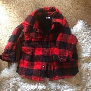Buffalo plaid flannel.